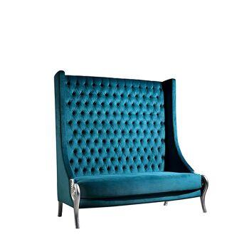 כורסא קפיטונג' גבוהה