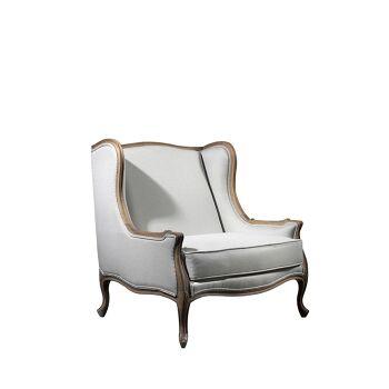 כורסא בשילוב עץ
