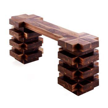 קונזולה עץ ייחודית