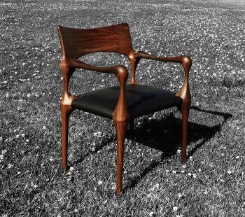 כסא פינת אוכל מעץ