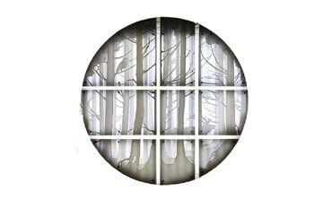 תאורת קיר – חלון ליער