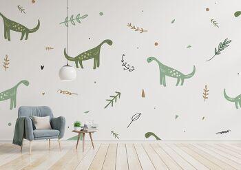 טפט דינוזאורים לחדרי ילדים