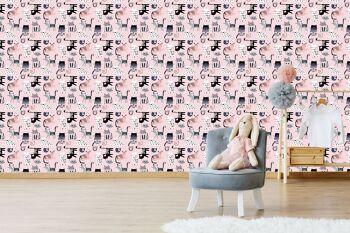 טפט חתולים לחדר ילדים