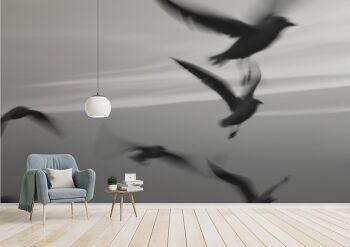 טפט מעוף צחפורים, בעיצוב אישי