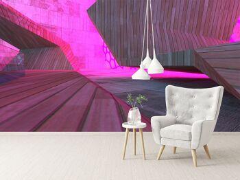 טפטים לסלון – טפט גאומטרי