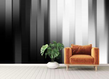 טפטים לסלון – טפט פסים תלת מימדים