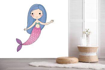 טפטים מיוחדים לחדרי ילדים – בת הים