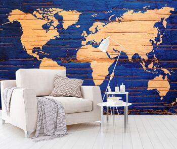 טפטים מיוחדים לבית – מפת עולם