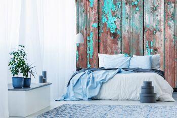 טפטים מיוחדים לחדר שינה דמוי עץ