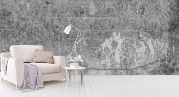 טפטים מיוחדים לסלון – חיפוי דמוי בטון