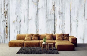 טפטים מיוחדים לבית – טפט דמוי חיפוי עץ