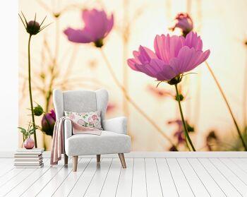 טפט בעיצוב אישי פרחים