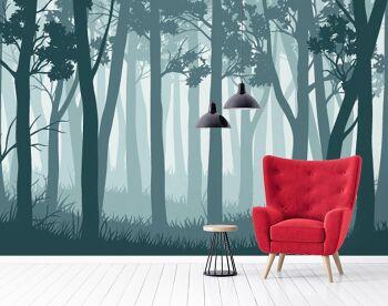 טפט בעיצוב אישי יער