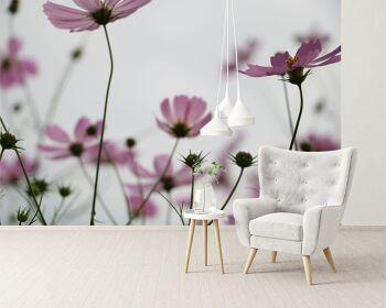 טפט פרחים בעיצוב אישי