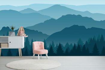 טפט נוף הרים