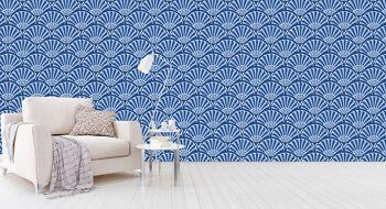 טפטים מיוחדים לבית – טפט פטרן כחול