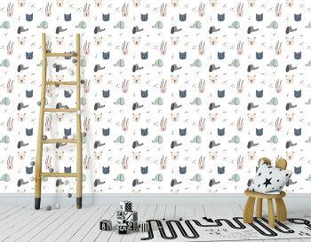 טפטים מיוחדים לבית – טפט פטרן לחדר ילדים