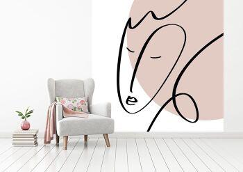 טפט תמונת אמנות מופשטת לבית