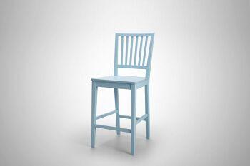 כסא בר אסיינדה תכלת