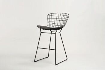כסא בר אלבי בצבע שחור