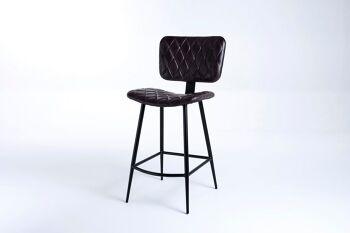 כסא בר ג'ייד שחור
