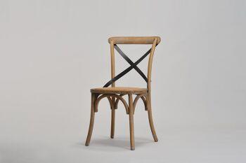 כסא קיאני טבעי/שחור