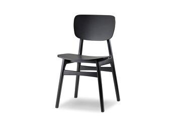 כסא דפני שחור