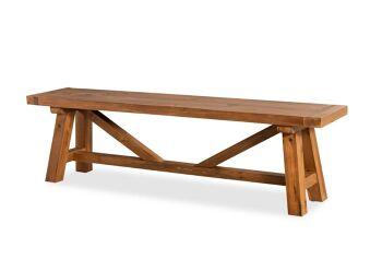 ספסל קובו טבעי