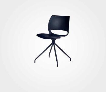 כסא Luigi Moretti – שחור
