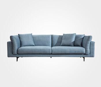 ספה תלת מקסי Godfather – בצבע כחול