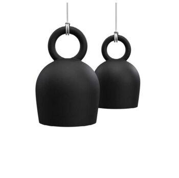 גוף תאורה תלוי CALO בצבע שחור