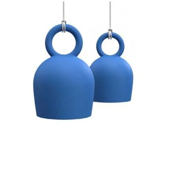 גוף תאורה תלוי CALO בצבע כחול
