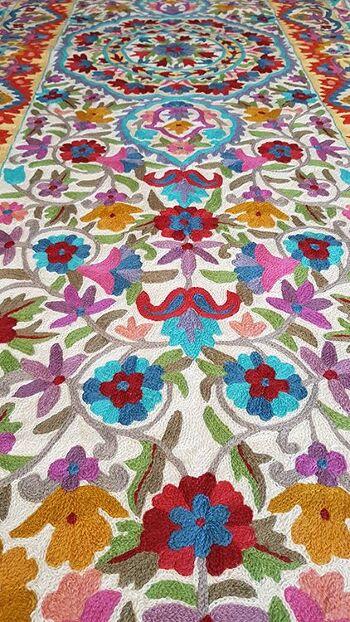 דגם Living colors – שטיח צמר מאורך למסדרון ולמטבח.