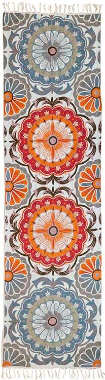 ראנר 70 – שטיח צמר מאורך למסדרון ולמטבח בצבע כתום