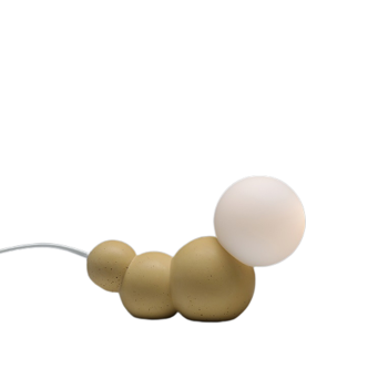 CATERPILLAR – מנורת זחל צהובה