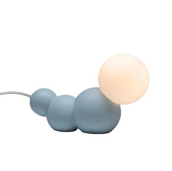 CATERPILLAR מנורת זחל בצבע תכלת