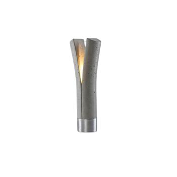 RELEASE מנורת שולחן מבטון אפור