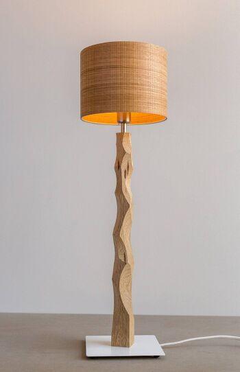 מנורת שולחן סוליד אלון