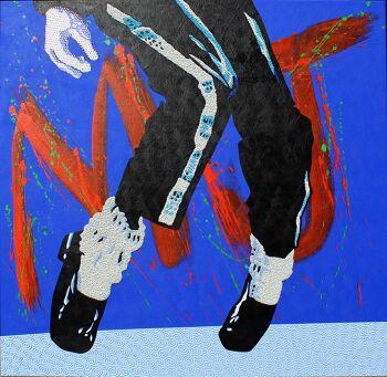 אמנות פופארט האצבעות של MJ