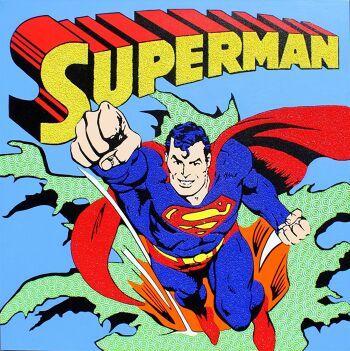 אמנות פופ ארט סופרמן