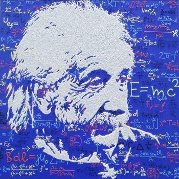 אמנות פופארט אלברט איינשטיין
