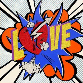 אמנות פופארט LOVE