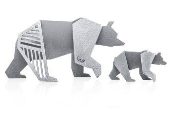 משפחת דובים אוריגמי