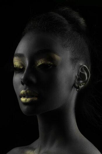 Gold on Black 8