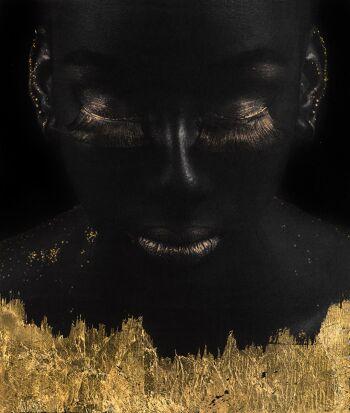 Gold on Black HM 5