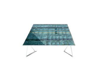 שולחן סלוני מודפס