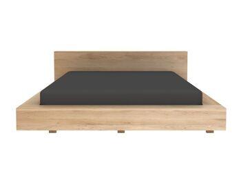 מיטת עץ אלון OAK MADRA