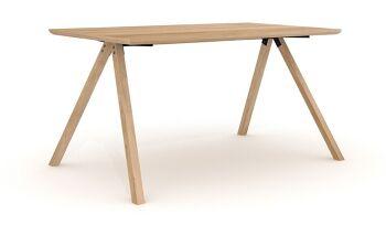 שולחן עץ OAK FLOE