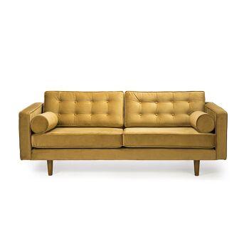 ספה N101 צהובה