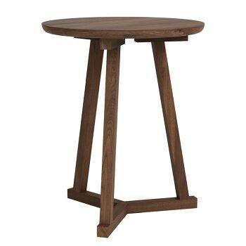 שולחן צד אגוז Tripod